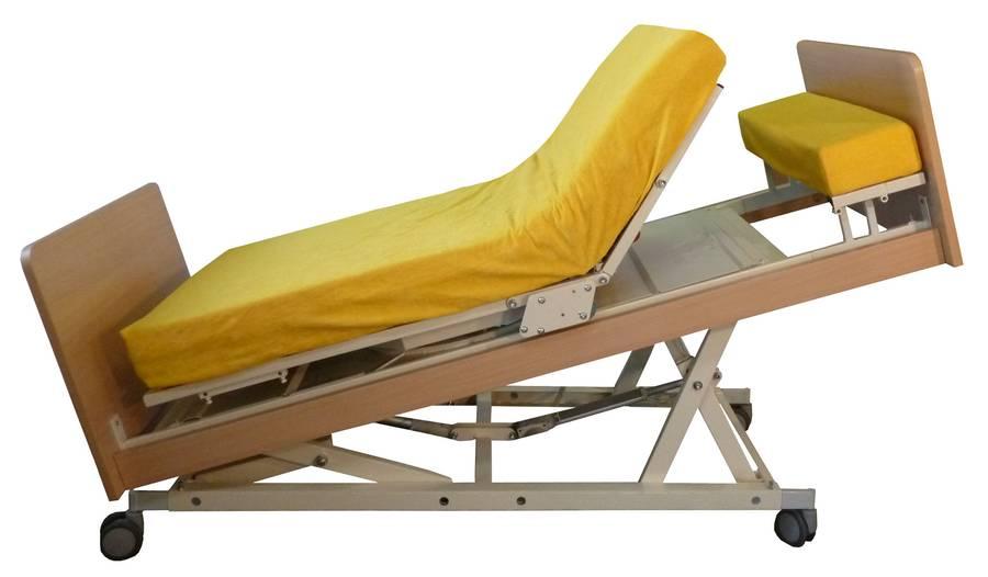Klinikbett / Aufstehbett INDREA-K