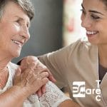 Pflegebett, Aufstehbett, Seniorenbett, Krankenbett