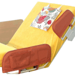 Seitengitter Pflegebett Indrea Aufstehgriff